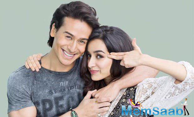 Shraddha And Tiger Looks Likes A Cute Couple On Their Movie Bhaagi