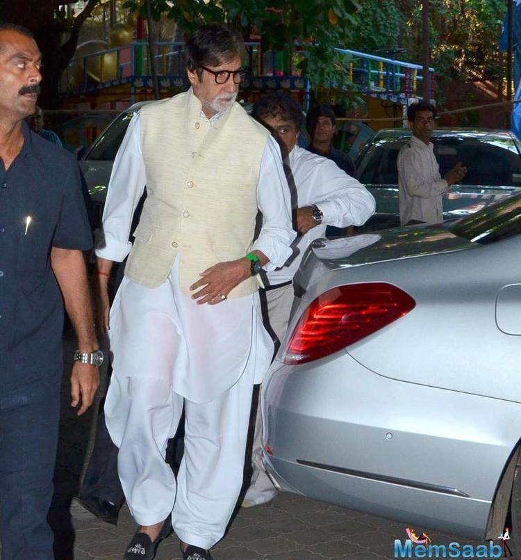 Amitabh Bachchan Attended Music Composer Aadesh Shrivastava Chautha