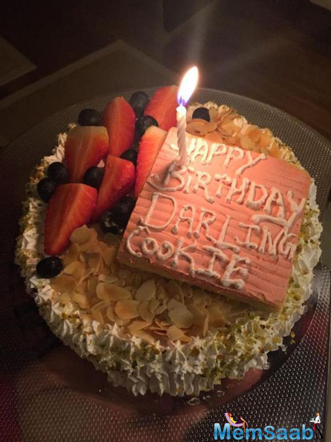 Raj Kundra's Birthday Cake