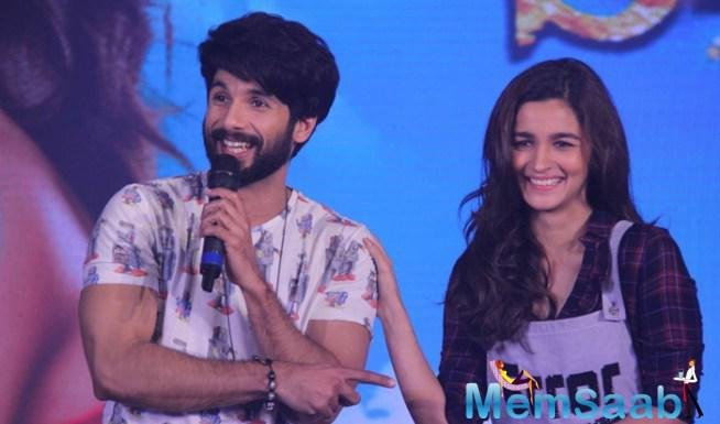 Shahid And Alia To Perform Live At Shaandaar's Song Gulaabo Launch