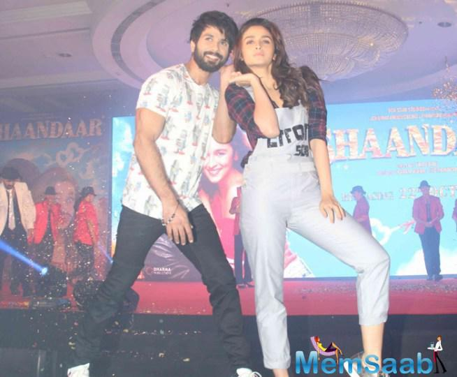 Shahid Kapoor And Alia Bhatt Are Ready To Pep-Up The Silver Screens With Shaandaar