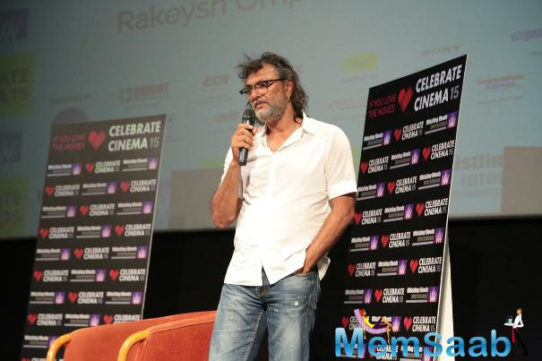 Rakeysh Omprakash Mehra Interacted At Subhash Ghai's Film School Whistling Woods