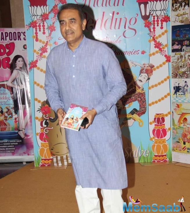 NCP Leader Praful Patel Posed With The Book
