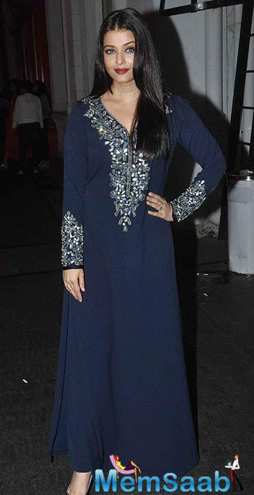 Aishwarya Rai Bachchan Dazzles At The Jazbaa Wrap Party