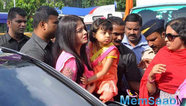 Aishwarya Must Have Sought Blessings For Her Movie Jazbaa