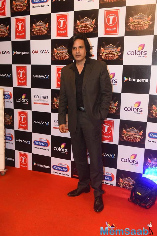 Rahul Roy Attend The Suron Ke Rang Color Ke Sang Musical Event