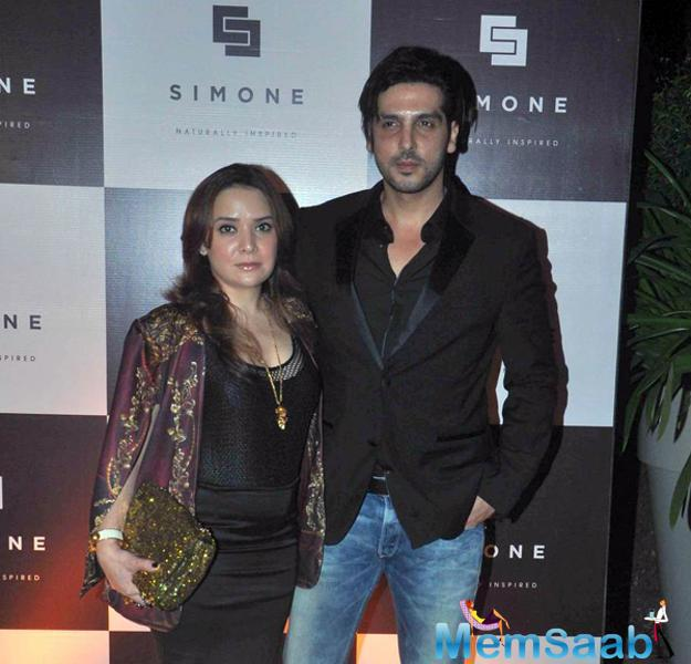 Zayed Khan And Wife Malaika Parekh Attend Simone Khan Arora Store Anniversary