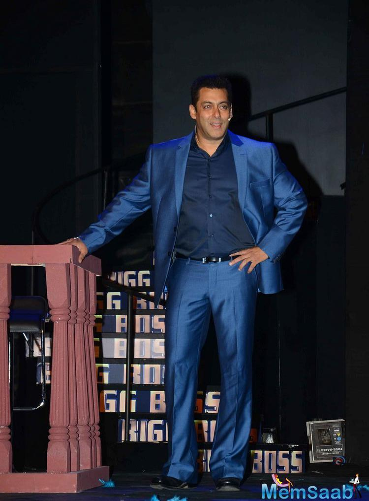 Salman Has Planned A Special Surprise For All His Fans On The Opening Ceremony