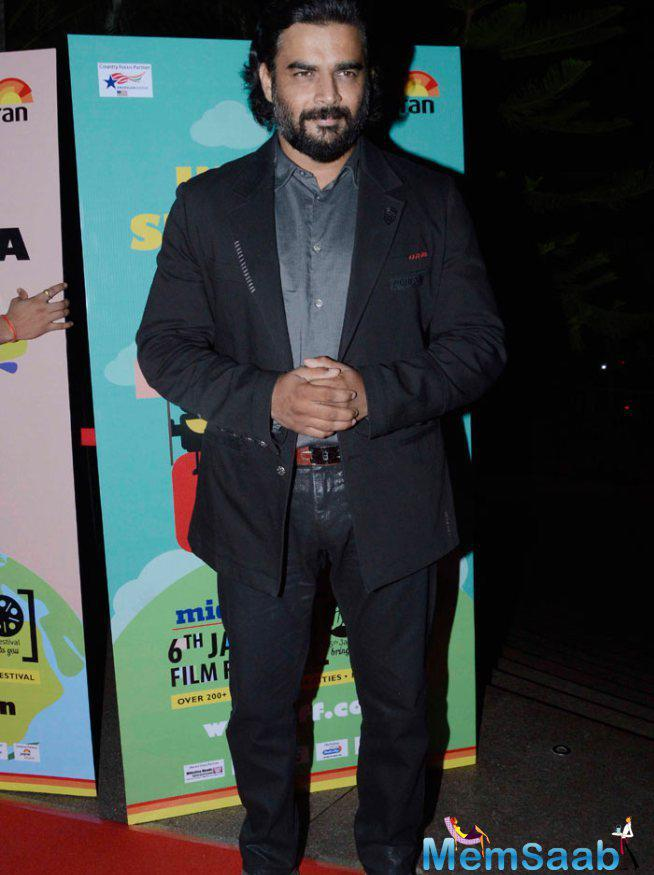 Tanu Weds Manu Returns Actor R. Madhavan Attended The Opening Ceremony Of The Jagran Film Festival