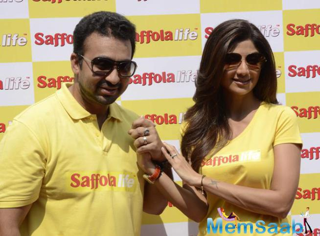 Shilpa And Raj To Participate In Saffolalife's Morning Walk Event On WHD In Mubai