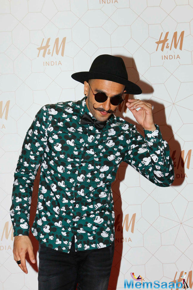 Ranveer Singh At His Animated Best Looked Super Cute In A Quirky Shirt
