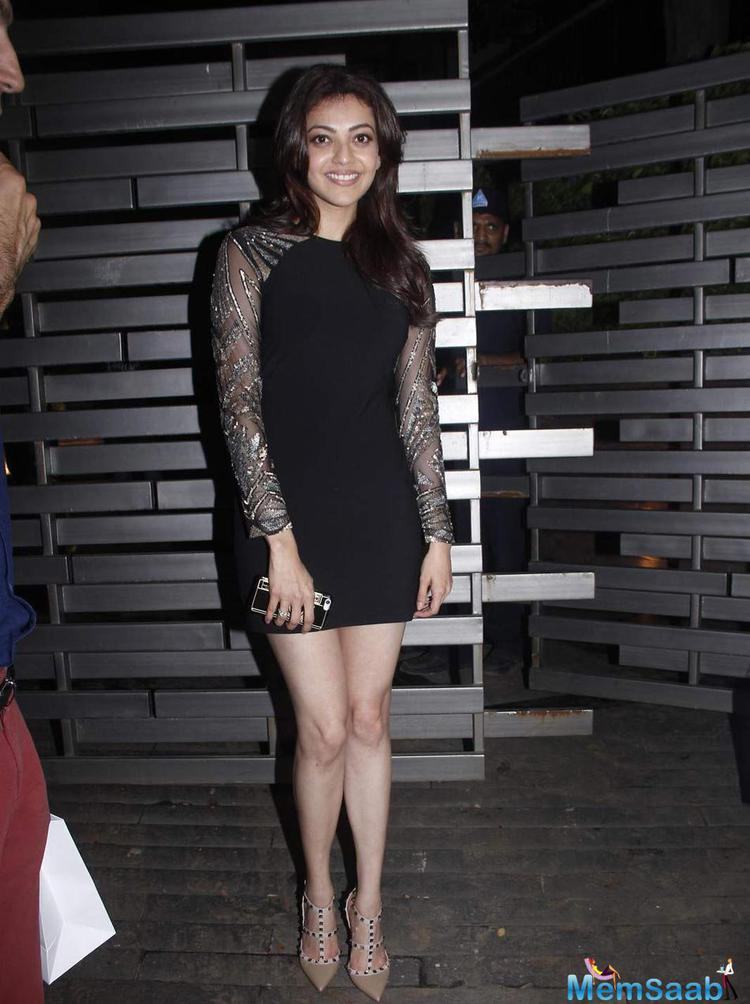 Kajal Aggarwal Looked Smashing At Glenfiddich Dinner