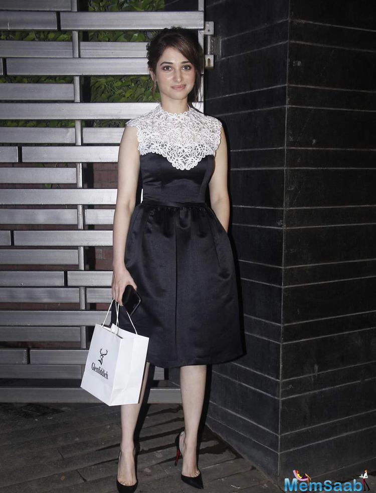 Tamannaah Bhatia Looked Lovely At Glenfiddich Dinner