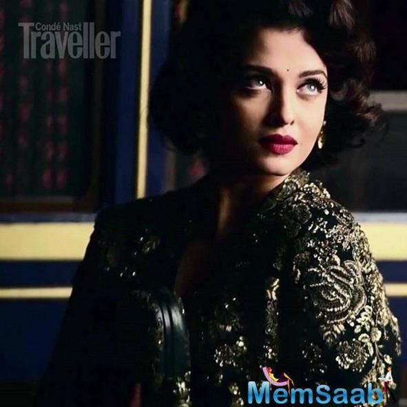 Evergreen Ethereal Beauty Aishwarya On The Cover Of Conde Nast Traveller's