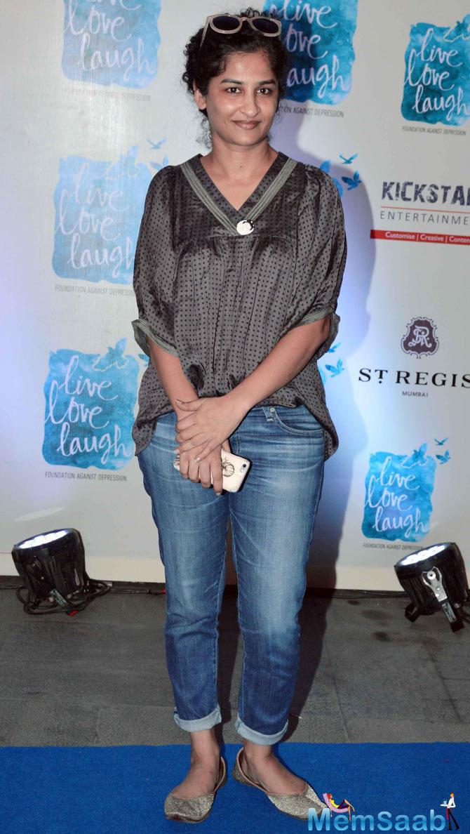 Gauri Shinde Attend The Launch Of Deepika Padukone NGO