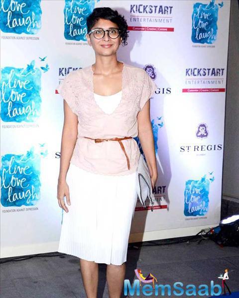 Kiran Rao Present To Support Deepika Padukone NGO Live Love Laugh