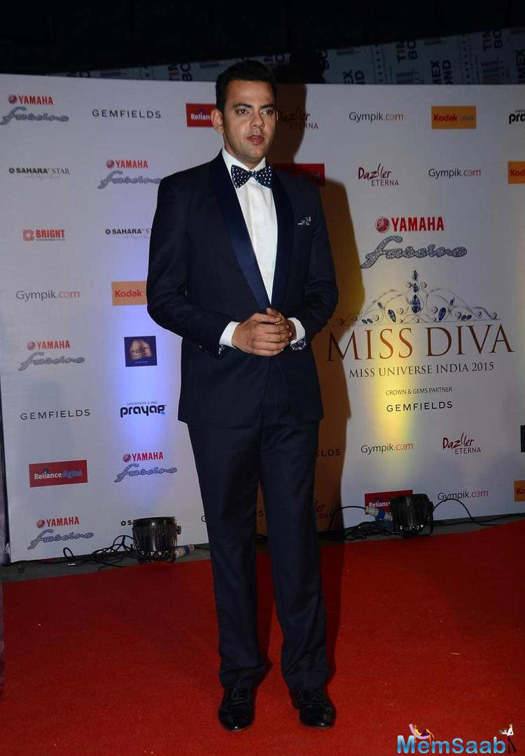 Cyrus Sahukar Present At Miss Diva 2015 Red Carpet