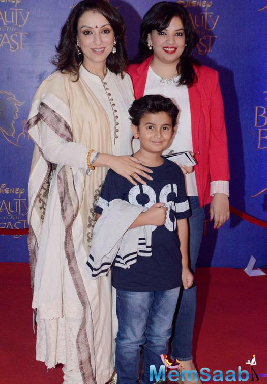 Madhurima Nigam Stunning Look During The Disney Beauty And The Beast Red Carpet