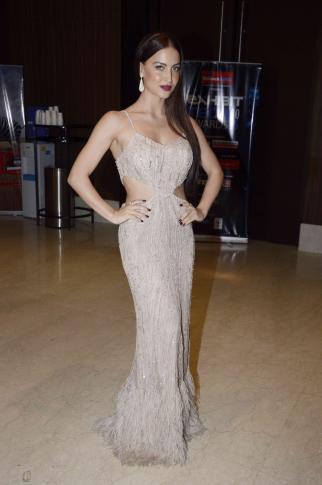 Elli Avram Beautiful Sexy Look During Exhibit Tech Awards