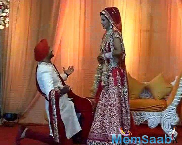 Harbhajan Singh And Geeta Basra Dance On Stage