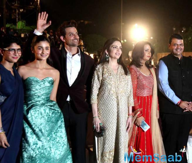 Celebs At The Opening Of 17th Mumbai Film Festival At The Historic Gateway Of India