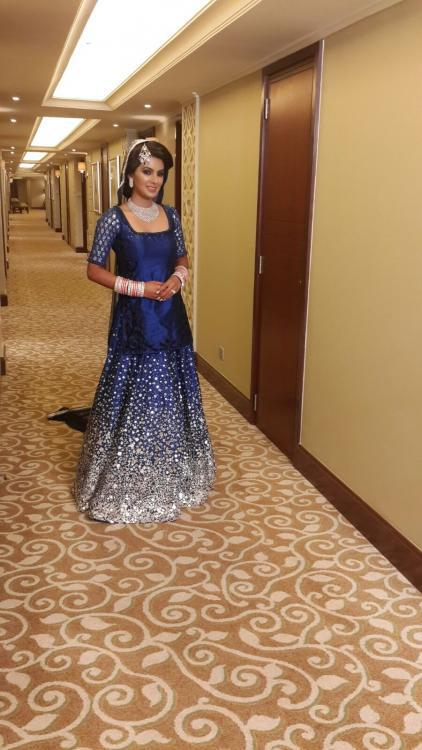 Geeta Basra Looks Smart And Awesome In Her Party Outfit