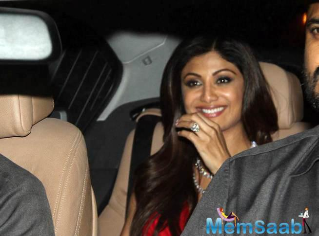 Shilpa Shetty Attended A Diwali Party Thrown By Director Siddharth Anand