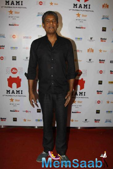 Adil Hussain Posed During The Screening Of Angry Indian Goddesses At 17th MAMI Festival