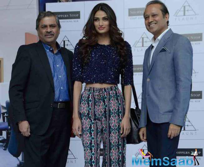Athiya, Who Made Her Bollywood Debut With 'Hero', Photographed Along With Vineet Jain