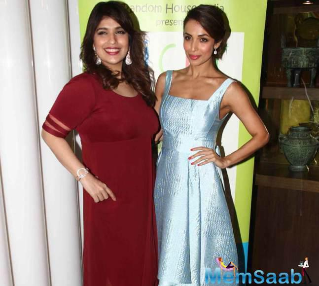 Malaika Arora Khan Attended The Launch Of Rakhee Vaswani's Book 'Picky Eaters'