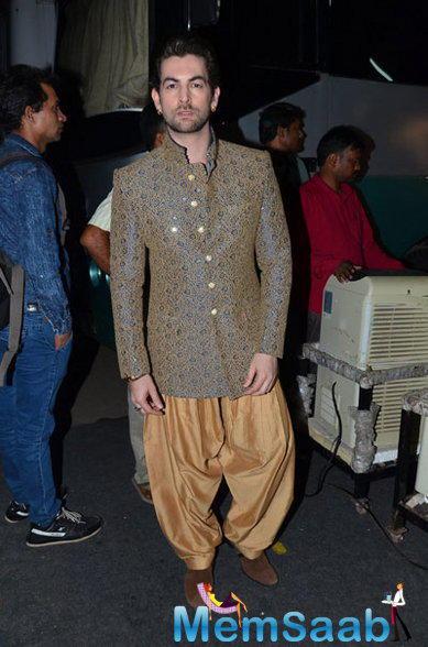 Neil Nitin Mukesh Handsome Look During PRDP Press Meet