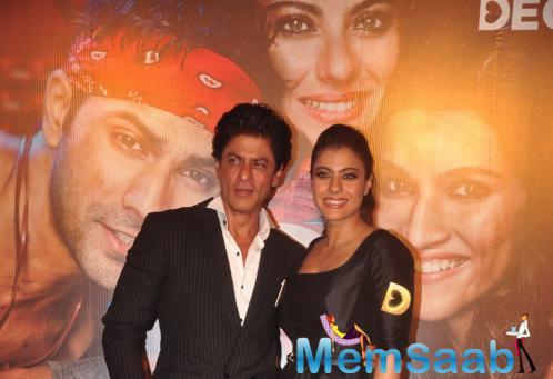 Shah Rukh And Kajol Were All Praises For Each Other At The Trailer Launch