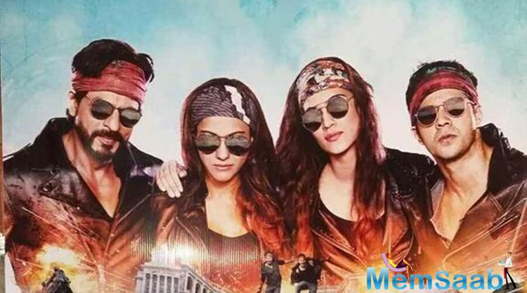 Dilwale Lead Heroes Strikes Gangster Pose For First Look Poster