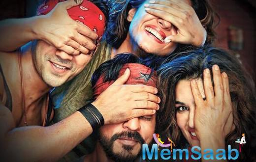 First Look Poster Of Shah Rukh Khan's Dilwale With Fun Attitude