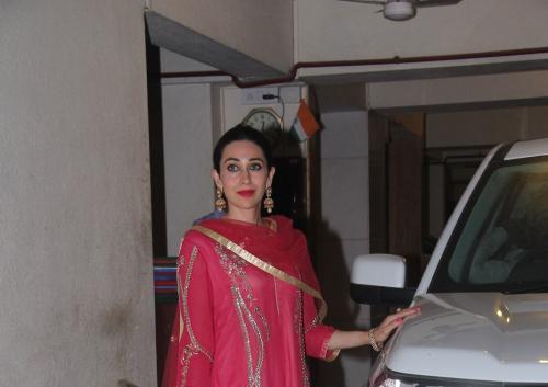 Karisma Kapoor Attened Saifeena Diwali Bash