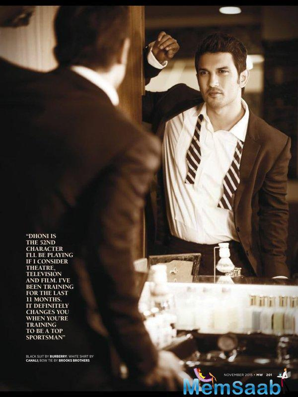 Dashing Sushant Singh Rajput Man's World Magazine Latest Photo Shoot