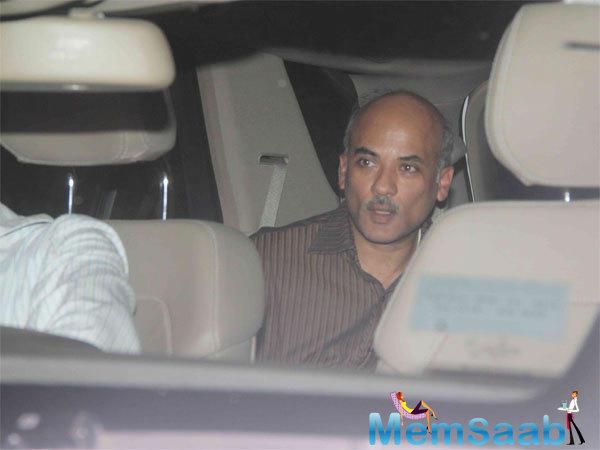 Director Sooraj Barjatya Looked Anxious As He Arrived