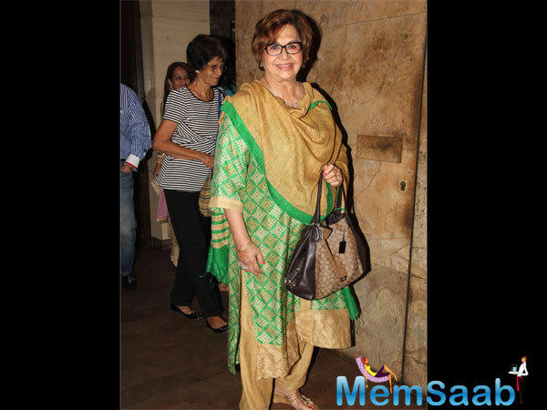 Salman's Step-Mother Helen Smiles For A Picture