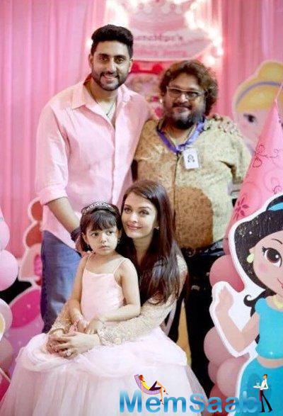 Dad's Little Angel And Mom's Princess Aaradhya Turned Four On Monday