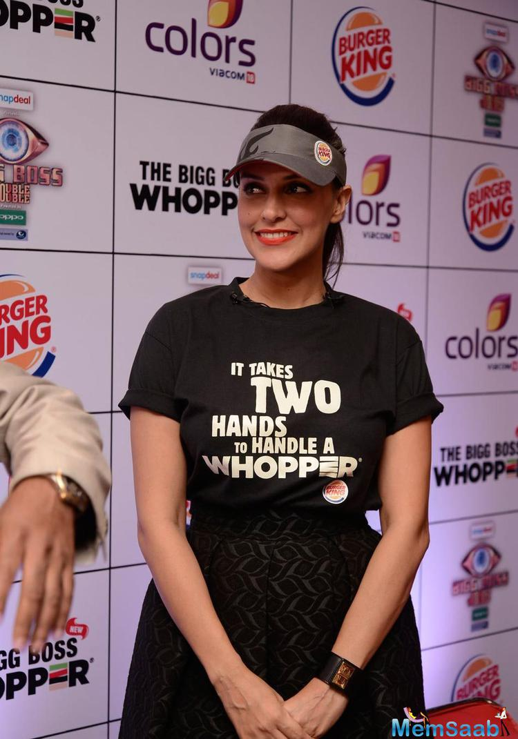 Neha Dhupia Launches Burger King's Limited Edition The Bigg Boss Whopper