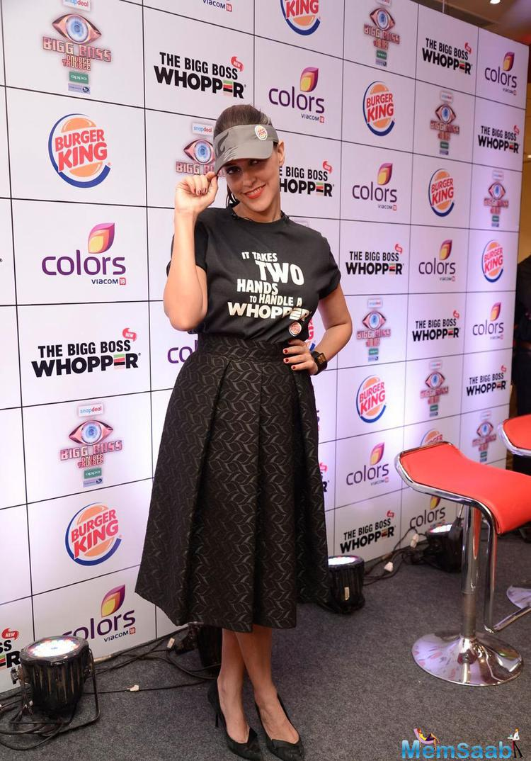Neha Dhupia Strikes A Pose For The Sutterbugs