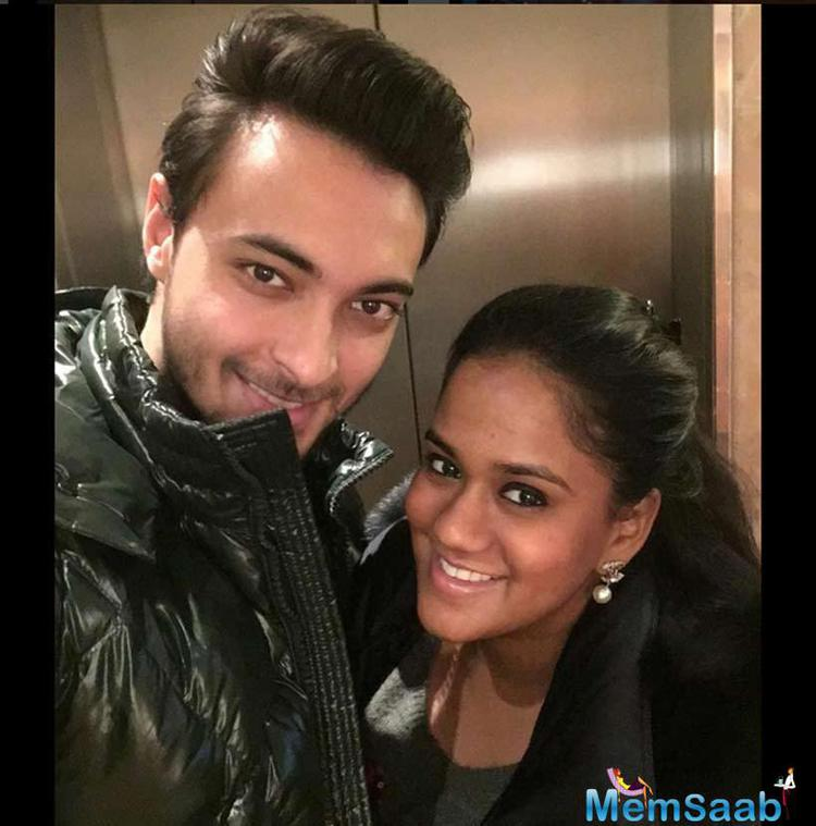 Aayush And Arpita Celebrates Their First Anniversary In London