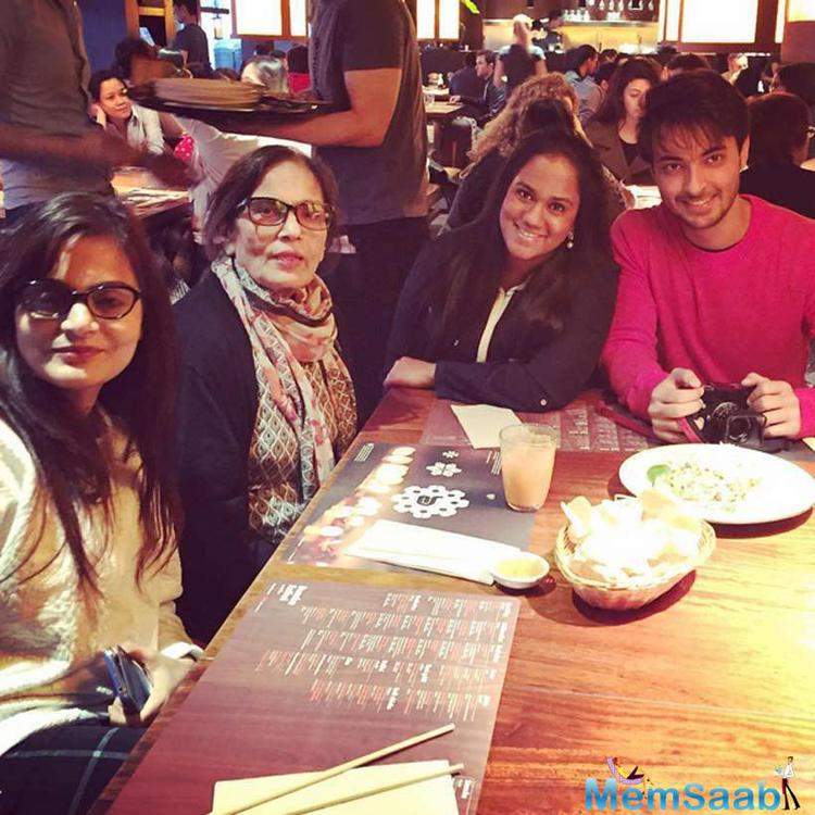 Arpita And Aayush Celebrates First Anniversary With Mom And Sis In London