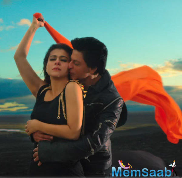 Shahrukh And Kajol Are Back Creating The Same Magic With The First Song Of 'Dilwale' Titled 'Geru