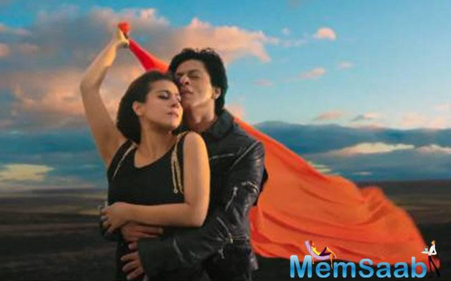 SRK And Kajol Make A Dreamy Pair In Gerua Song From Dilwale