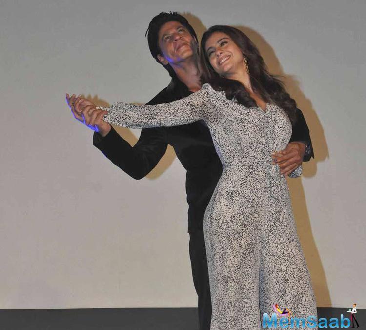 Shah Rukh Khan, Kajol Bring Magic To Maratha Mandir For 'Dilwale'