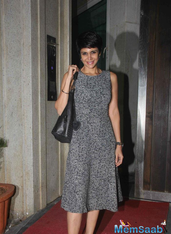 Mandira Bedi Was All Smiles At Masaba's Pre Wedding Bash