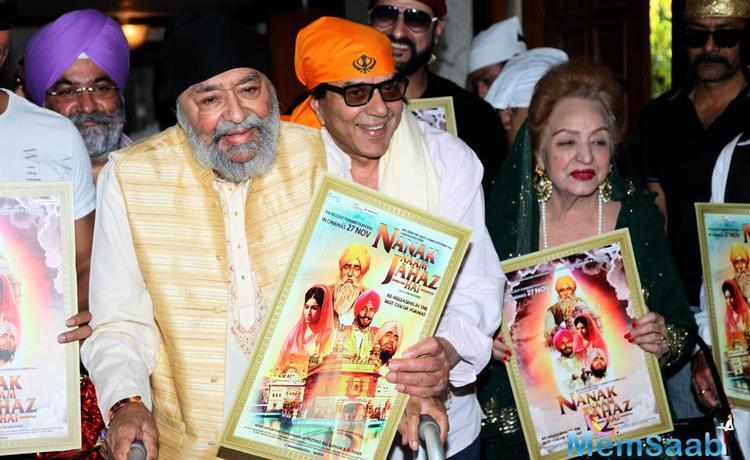 Dharmendra Unveiled Nanak Naam Jahaz Hai Poster