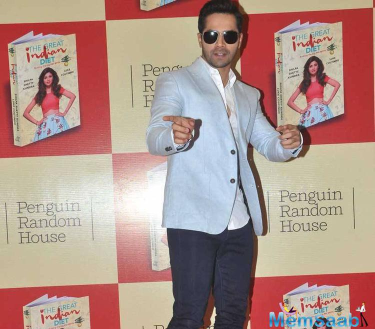 Varun Dhawan Attended Shilpa's New Book The Great Indian Diet Launch Event