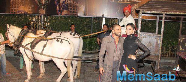 Deepika And Ranveer Are Royal At BM Trailer Launch In Mumbai